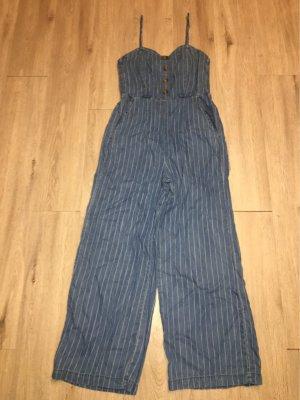 Tally Weijl Jumpsuit steel blue-natural white