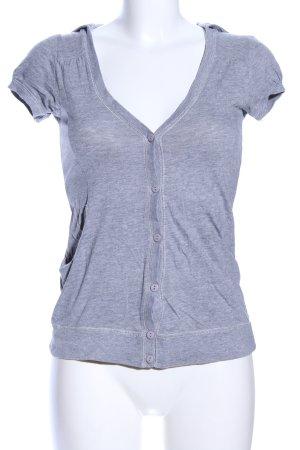 Tally Weijl Hooded Vest light grey flecked casual look