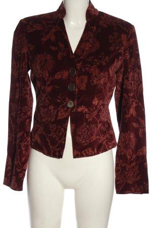 Tally Weijl Klassischer Blazer bruin-rood volledige print elegant
