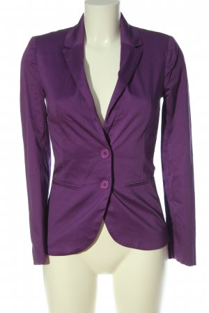 Tally Weijl Klassischer Blazer lila Business-Look