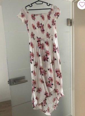 Tally Weijl Off-The-Shoulder Dress white-pink
