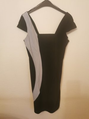 Tally Weijl Kleid in schwarz/grau