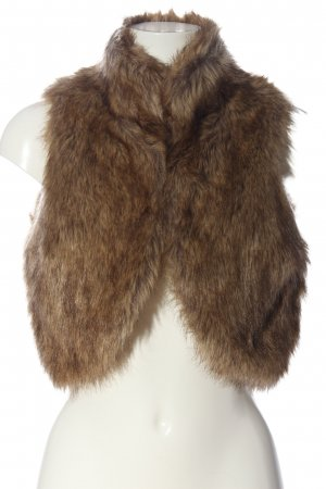Tally Weijl Fake Fur Vest brown casual look