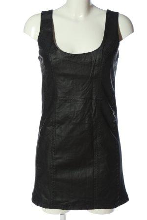 Tally Weijl Kunstlederkleid schwarz Casual-Look
