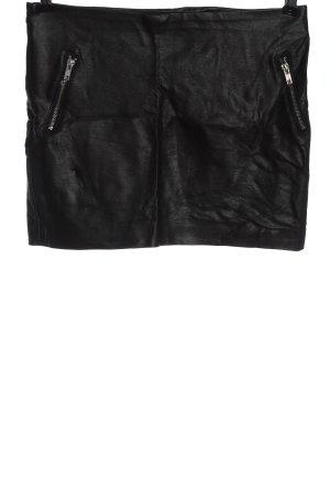 Tally Weijl Kunstlederrock schwarz Elegant