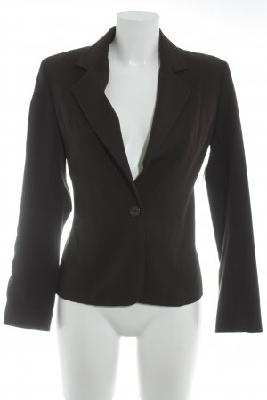 Tally Weijl Kurz-Blazer schwarzbraun Business-Look