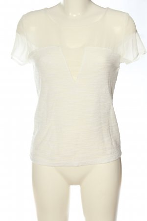 Tally Weijl Short Sleeved Blouse natural white flecked casual look