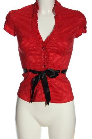 Tally Weijl Camisa de manga corta rojo estilo «business»