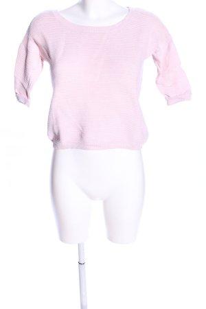 Tally Weijl Kurzarmpullover pink Casual-Look