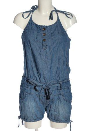 Tally Weijl Kurzer Jumpsuit blau Casual-Look