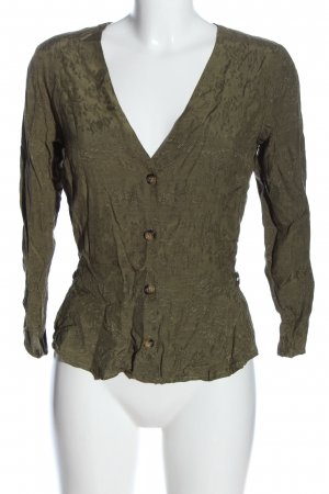 Tally Weijl Langarm-Bluse khaki Casual-Look