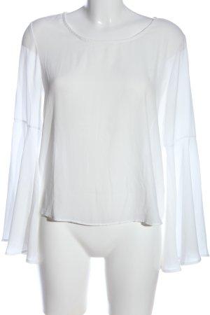 Tally Weijl Langarm-Bluse weiß klassischer Stil
