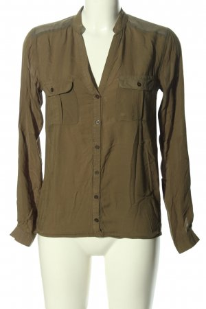 Tally Weijl Langarm-Bluse bronzefarben Casual-Look