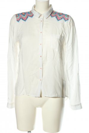 Tally Weijl Langarm-Bluse grafisches Muster Casual-Look