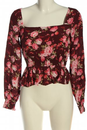 Tally Weijl Langarm-Bluse Allover-Druck Casual-Look