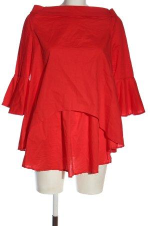Tally Weijl Langarm-Bluse rot Elegant