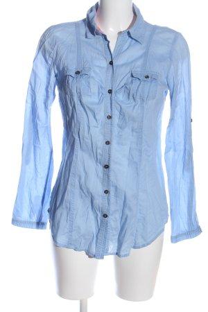 Tally Weijl Langarmhemd blau Business-Look