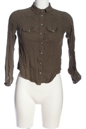Tally Weijl Langarmhemd bronzefarben Casual-Look