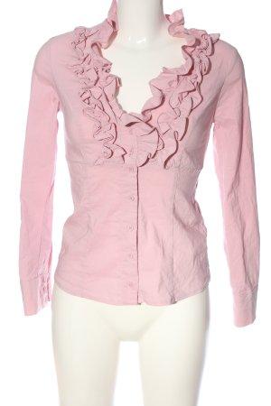 Tally Weijl Langarmhemd pink Business-Look