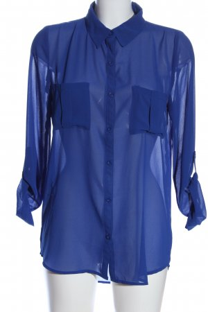 Tally Weijl Langarmhemd blau Casual-Look