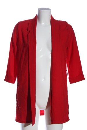 Tally Weijl Lange blazer rood casual uitstraling