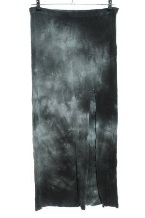 Tally Weijl Falda larga negro-blanco degradado de color look casual