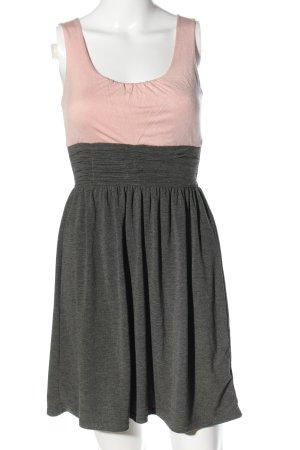 Tally Weijl Minikleid pink-hellgrau meliert Casual-Look