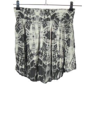 Tally Weijl Minirock schwarz-weiß abstraktes Muster Casual-Look