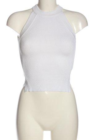 Tally Weijl Top senza maniche bianco stile casual