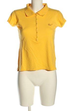 Tally Weijl Koszulka polo bladożółty W stylu casual