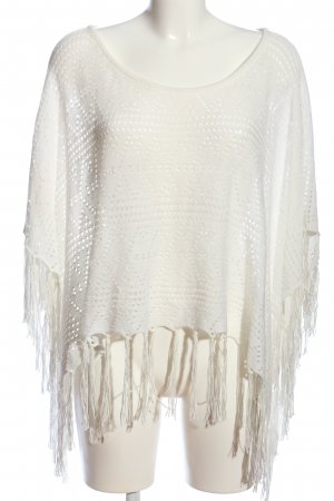Tally Weijl Poncho wit casual uitstraling