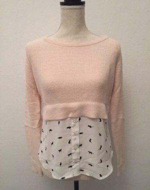 Tally Weijl Knitted Sweater pink-dusky pink