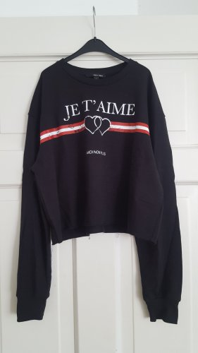 Tally Weijl Pullover L Print Amour cropped kastig