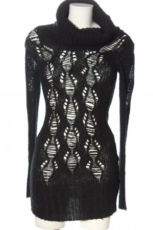Tally Weijl Pulloverkleid schwarz Casual-Look