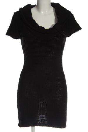 Tally Weijl Abito maglione nero stile casual