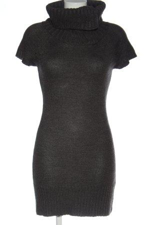Tally Weijl Swetrowa sukienka jasnoszary W stylu casual