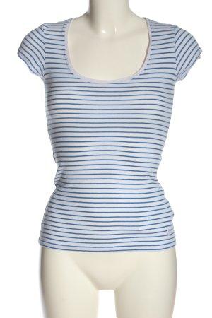 Tally Weijl Stripe Shirt white-blue striped pattern casual look