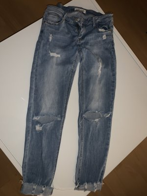 Tally Weijl Carrot Jeans steel blue