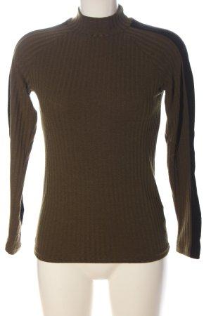 Tally Weijl Chemise côtelée brun style décontracté