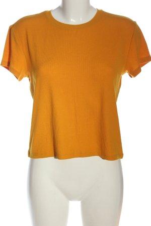 Tally Weijl Chemise côtelée orange clair style décontracté