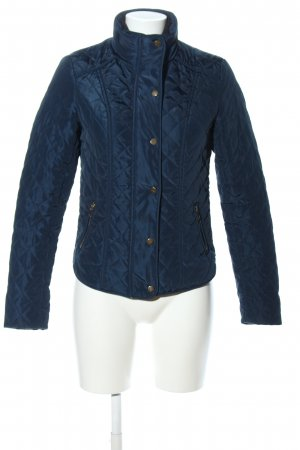 Tally Weijl Ripstop Jacket blue quilting pattern casual look