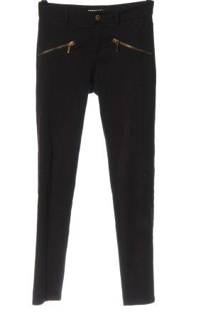 Tally Weijl Pantalón de tubo negro estilo «business»