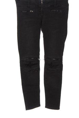 Tally Weijl Jeansy rurki czarny W stylu casual