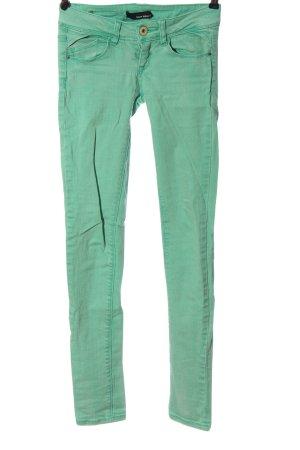 Tally Weijl Jeans cigarette vert style décontracté