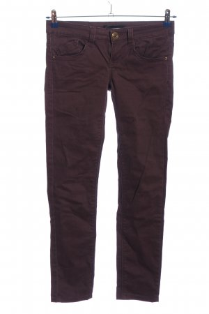 Tally Weijl Tube Jeans brown casual look