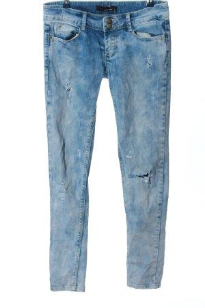 Tally Weijl Röhrenjeans blau Casual-Look