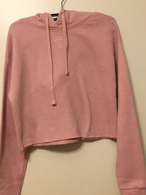Tally Weijl rosa cropped hoodie