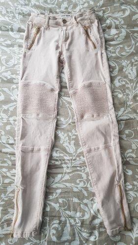Tally Weijl High Waist Trousers rose-gold-coloured-light pink
