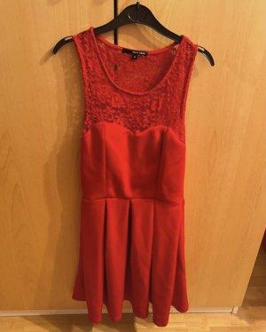 Tally Weijl Rotes Kleid mit Spitze
