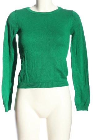 Tally Weijl Rundhalspullover grün Casual-Look
